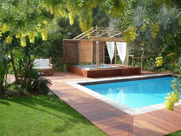 emejing jacuzzi terrasse jardin photos amazing home design